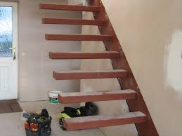 floating stair treads stairs design contemporary precast stair