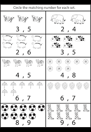 counting worksheets for kindergarten printable worksheets