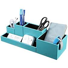 Organizer Desk Vpack Office Desk Organizer Leatherette 5