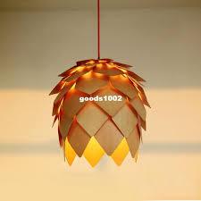Wholesale Pendant Lighting Discount Wholesale New Modern Novelty Creative Pine Cone Pendant
