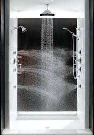 grohe steam shower mobroi com shower head timer shut off one day i will have a with multiple
