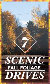 New York State Fall Foliage Map by 7 Perfect Fall Foliage Drives For Taking In The Scenery