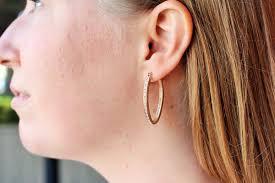 grande earrings cate shaena beautiful hoop gold silver earrings