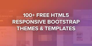 Top 40 Free Html5 Responsive Bootstrap Themes Templates 2018 Themes Templates