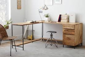 Industrial Table L Home Office Ideas L Shaped Pipe Industrial Office Table With