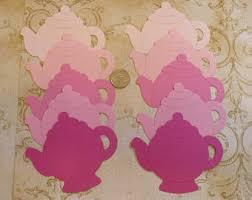 teapot invitations etsy