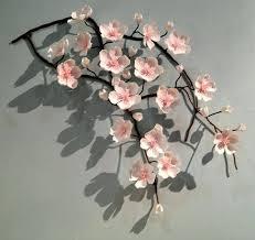 cherry home decor blue and white ceramic home decor modern cherry blossoms other