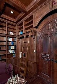 Victorian Bookshelf Craftsman Library With Box Ceiling U0026 French Doors Zillow Digs