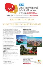 Family Medicine Forum 2015 Program Hkam May 2015 News