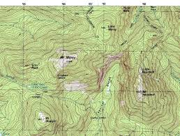 how to read topographic maps how to read a map a hillwalk guide walking hiking
