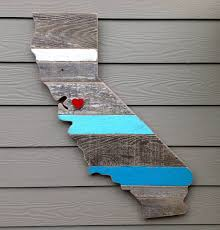 california wall rustic california board wooden