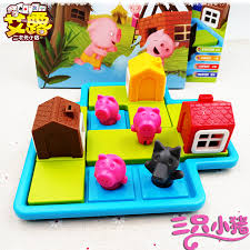 usd 12 20 early teaching board game piglets build house