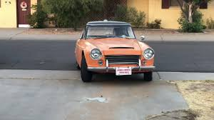 datsun roadster 1966 datsun sp311 fairlady roadster youtube