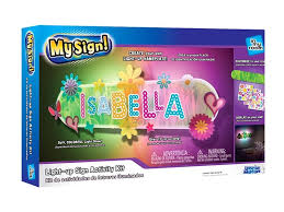 make your own light up sign my sign see your name in lights make your own light up nameplate
