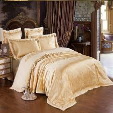 Silk Duvet Cover Queen Online Get Cheap Gold Duvet Covers Aliexpress Alibaba Group