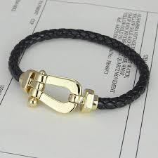 stainless steel buckle bracelet images Silver gold buckle bracelet fred stainless steel ferrule steel jpg