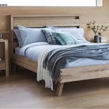 reclaimed wooden bed frames kingsize u0026 double beds modish living