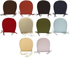Dining Room Chair Cushions And Pads by Round Kitchen Seat Pad Garden Furniture Dining Room Chair Cushion