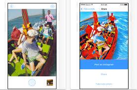 app world goes bananas for art app that turns photos into van