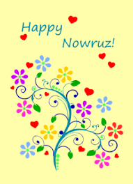 norooz cards farsi happy nowruz with flowers and from our home to yours