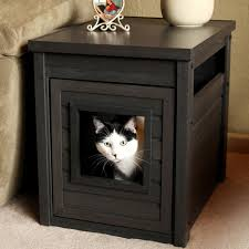 modern litter box cabinet an easy diy cat litter box ideas homesfeed