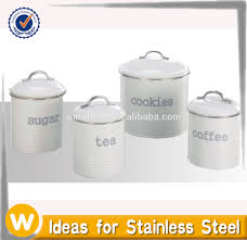 kitchen tools stainless steel food storage canister buy canister