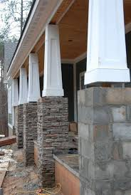 bathroom support pillars for houses wooden porch posts and