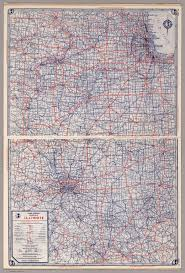 Bloomington Illinois Map by Rand Mcnally Road Map Illinois David Rumsey Historical Map