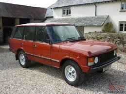 classic land rover for sale 1984 range rover classic superb