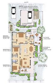 One Room Cottage Floor Plans Best 25 Narrow Lot House Plans Ideas On Pinterest Narrow House