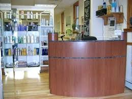 Reception Desk For Salon Salon Reception Furniture Large Curved Reception Desk