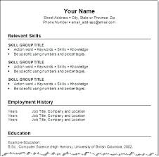 free chronological resume template resume chronological resume template free chronological