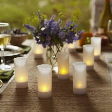 Accessorize Your End Table With Silver Vases And Votives by Set Of 4 Milky White Mercury Glass Votive Holders Walmart Com