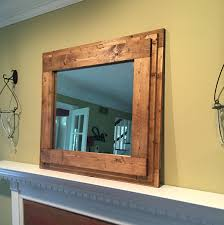 mirror with mirror frame rustic bathroom mirrors oversized mirrors