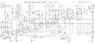 toyota starlet ep82 agmqy wiring diagrams wiring diagram for a