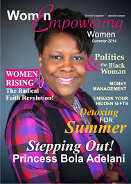 Women Magazine Enter Into Your Wealthy Place Jacqueline Ani Inspirational Speaker