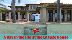 a day in the life at the la faze house youtube