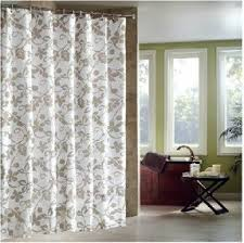 Grey And White Curtains Shower Curtain Foter