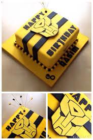 transformer birthday bumblebee transformer birthday cake cakes
