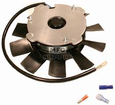 polaris 4170009 atv cooling fan and motor atv parts mfg supply