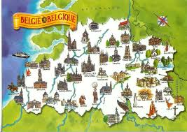 belgium and map belgium map card remembering letters and postcards