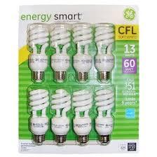 ge energy smart cfl light bulbs 13 watt 60w equivalent ge energy smart 8 pk 13 60w cfl bulbs 31064 14 99 canada s best