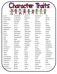 best 25 character traits list ideas on pinterest character