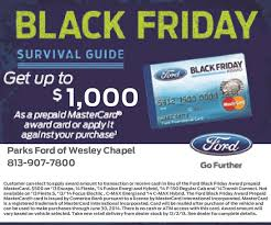 black friday ford sales what u0027s new at parks ford of wesley chapel