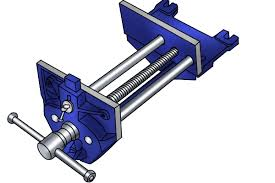 what are the parts of a woodworking vice
