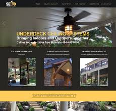 Southeastern Underdeck Systems by Home Improvement Contractor U0027s New Website All Terrain Studios