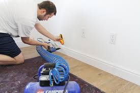 how tall should baseboards be installing baseboards in the nursery chris loves julia