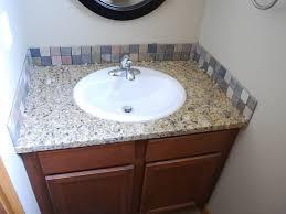 Vanity Backsplash Ideas - amazing backsplash included bathroom vanities ideas for