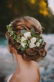 bridal flowers for hair updo wedding hairstyles with flowers deer pearl flowers http