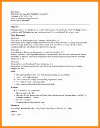 Driver Sample Resume by 100 Sample Resume For Class B Driver Genealogy Researcher